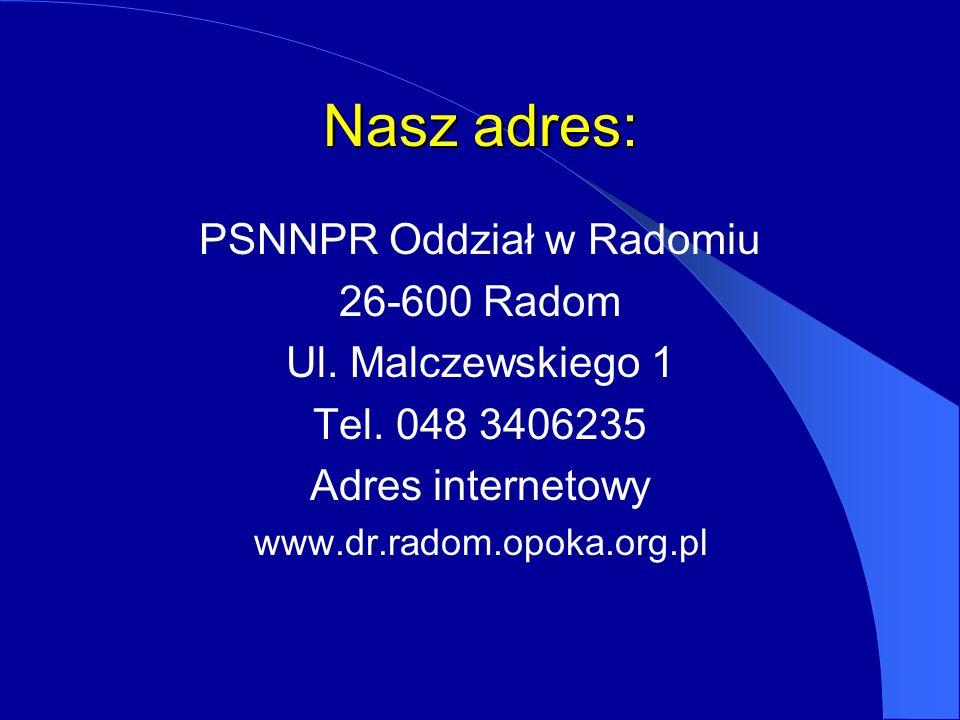 PSNNPR Oddział w Radomiu