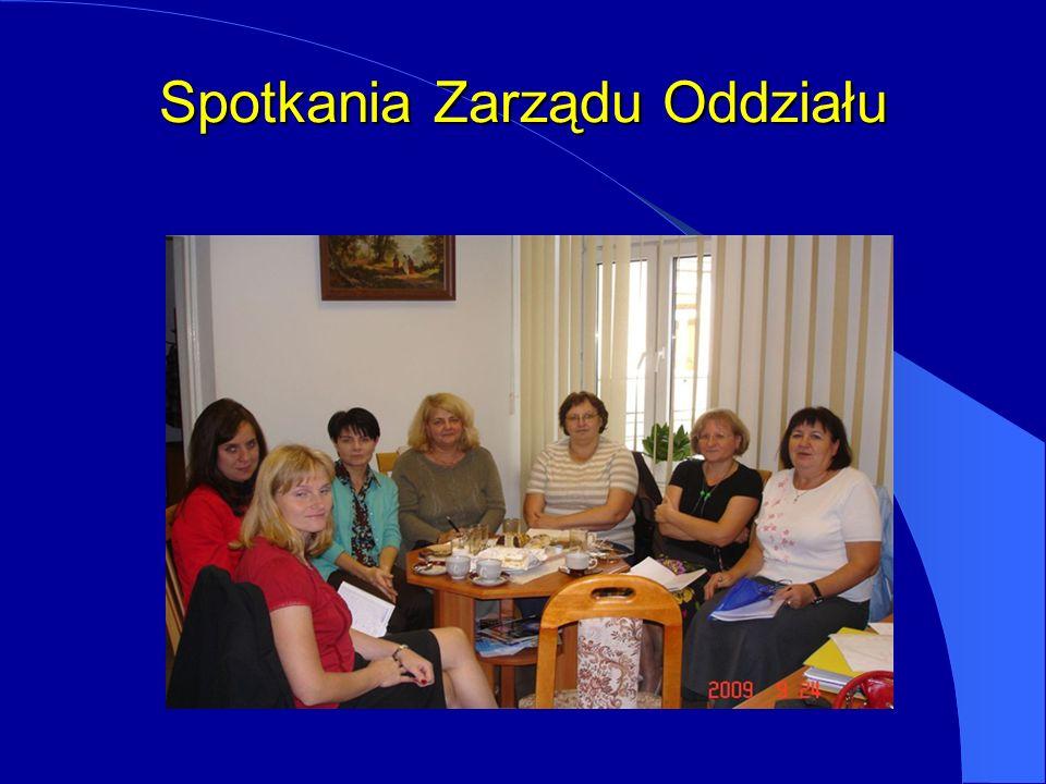 Spotkania Zarządu Oddziału