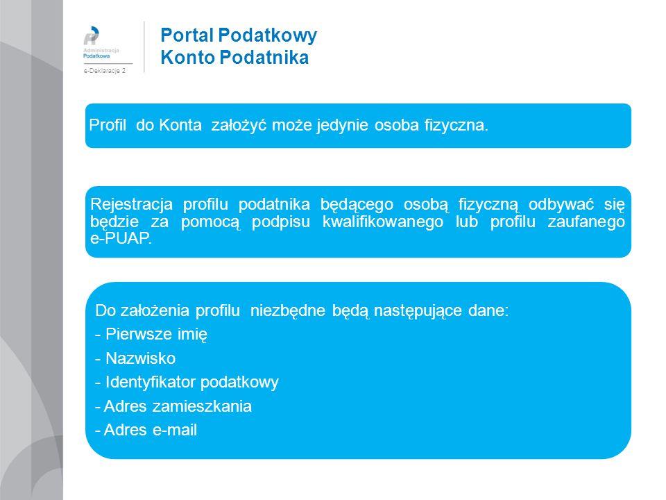 Portal Podatkowy Konto Podatnika