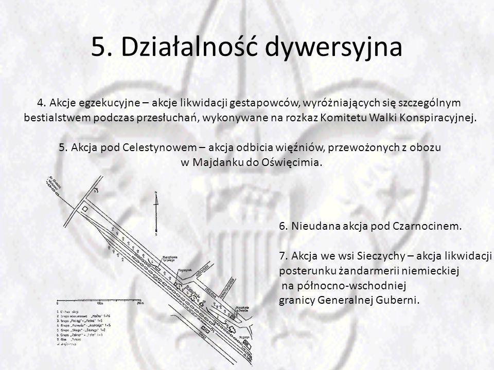 5. Działalność dywersyjna