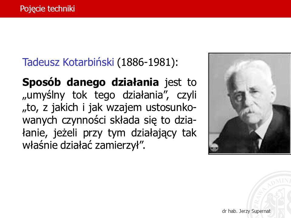 Tadeusz Kotarbiński (1886-1981):