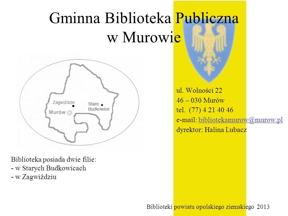 Gminna Biblioteka Publiczna w Murowie