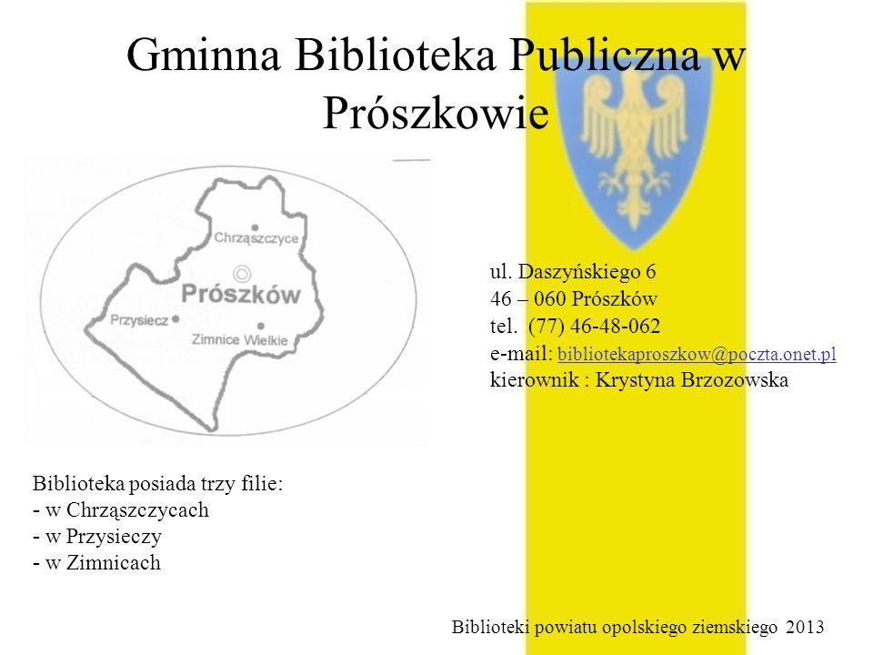 Gminna Biblioteka Publiczna w Prószkowie