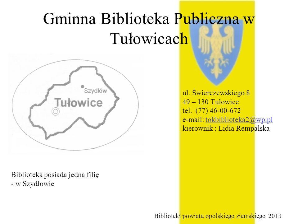 Gminna Biblioteka Publiczna w Tułowicach