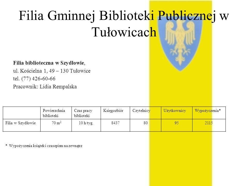 Filia Gminnej Biblioteki Publicznej w Tułowicach