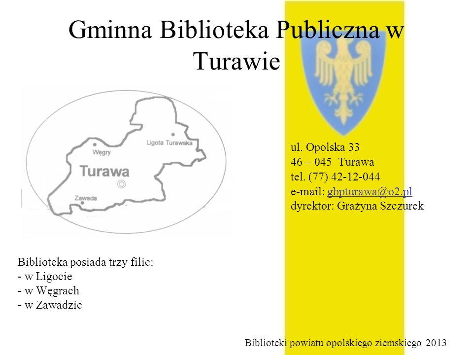 Gminna Biblioteka Publiczna w Turawie