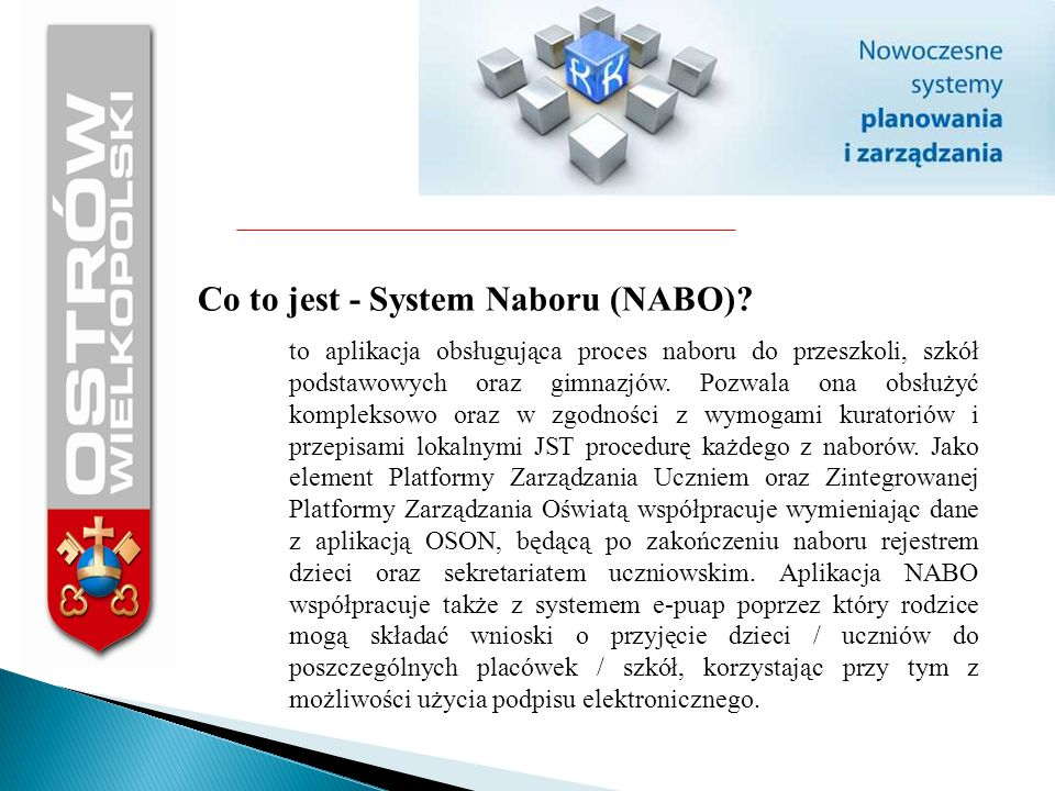 Co to jest - System Naboru (NABO)