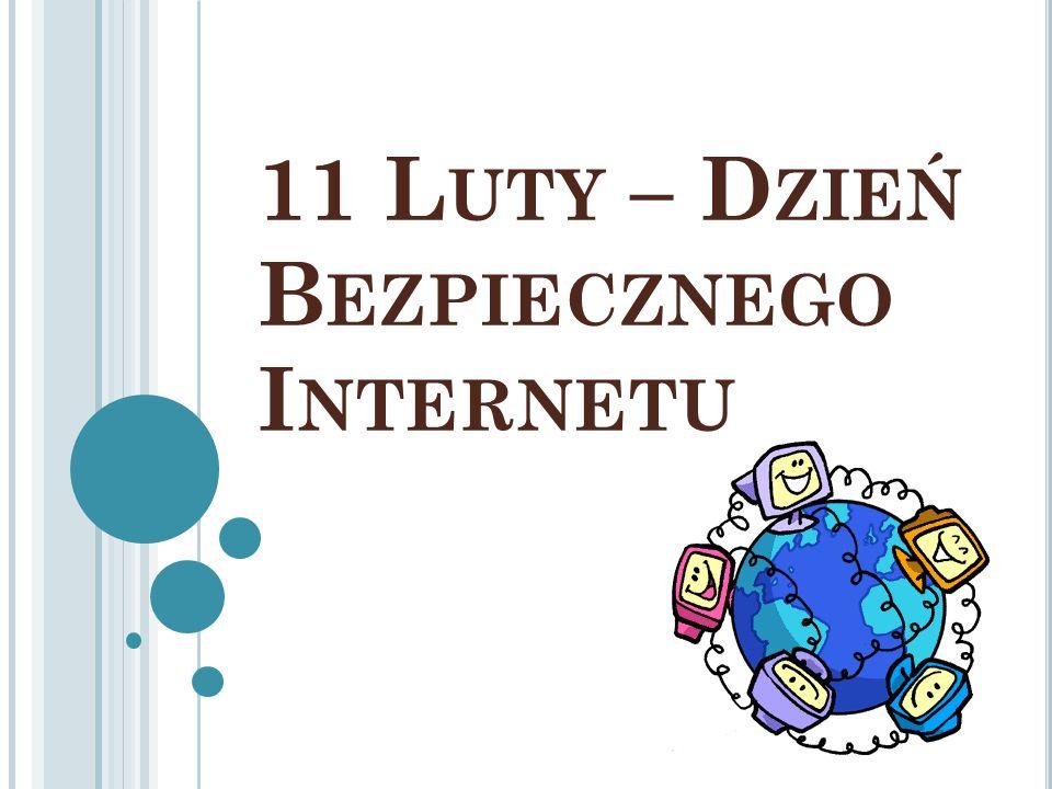 11 Luty – Dzień Bezpiecznego Internetu