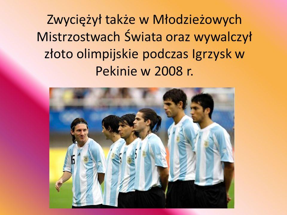 Zwyciężył także w Młodzieżowych Mistrzostwach Świata oraz wywalczył złoto olimpijskie podczas Igrzysk w Pekinie w 2008 r.