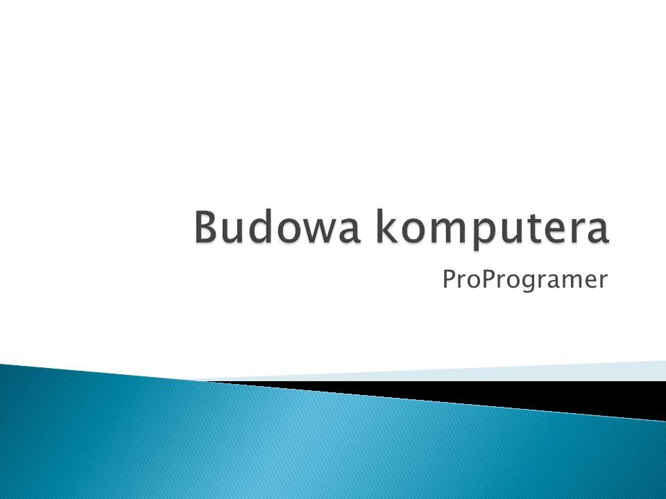 Budowa komputera ProProgramer