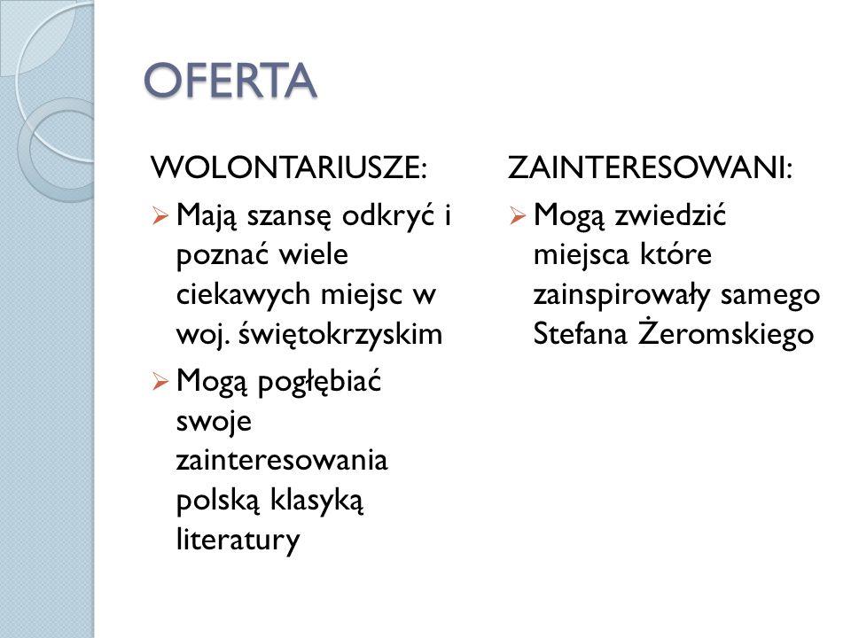OFERTA WOLONTARIUSZE: