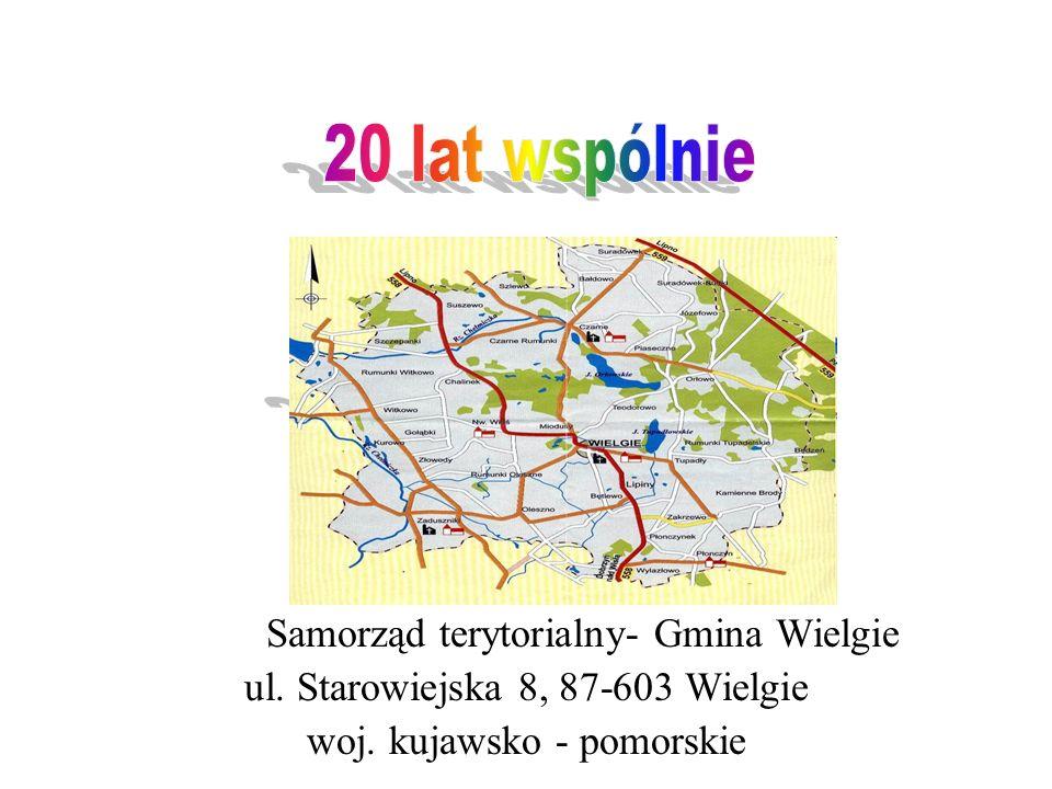 20 lat wspólnie 20 lat wspólnie Samorząd terytorialny- Gmina Wielgie
