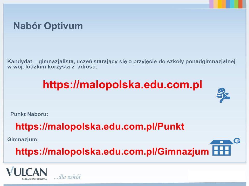 https://malopolska.edu.com.pl Nabór Optivum