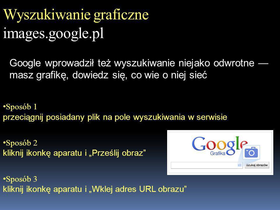 Wyszukiwanie graficzne images.google.pl