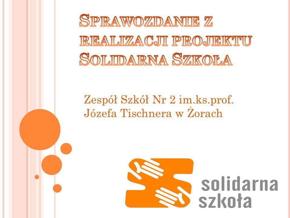 Sprawozdanie z realizacji projektu Solidarna Szkoła