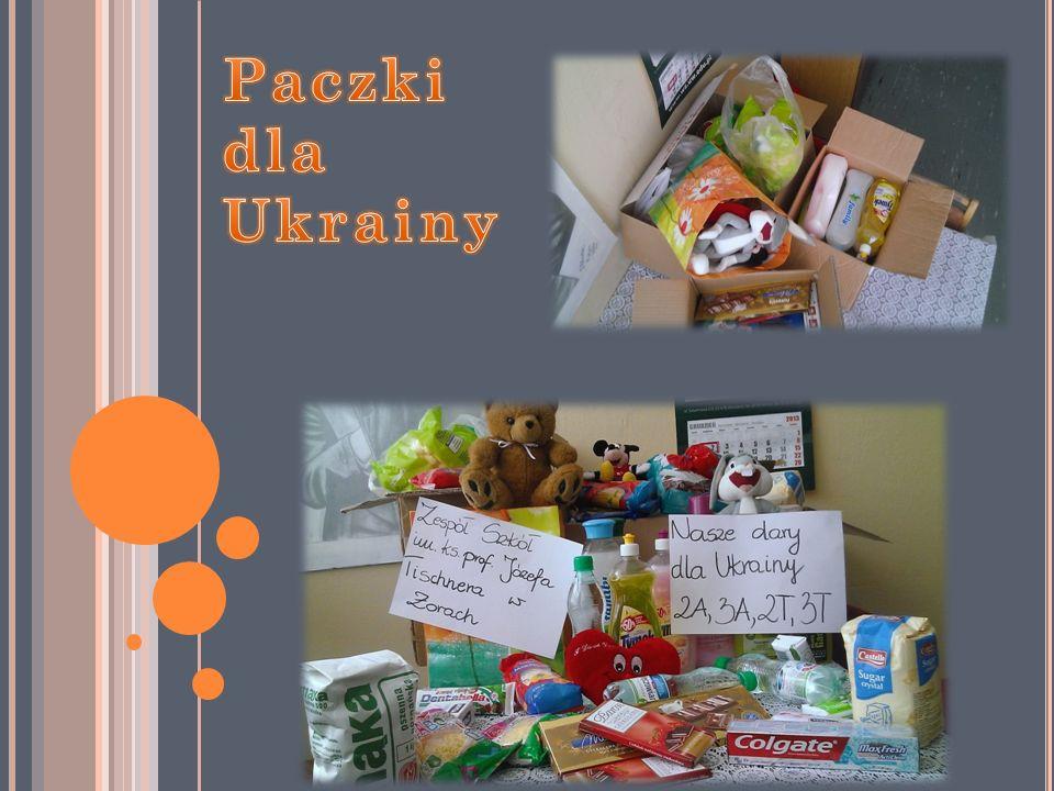 Paczki dla Ukrainy