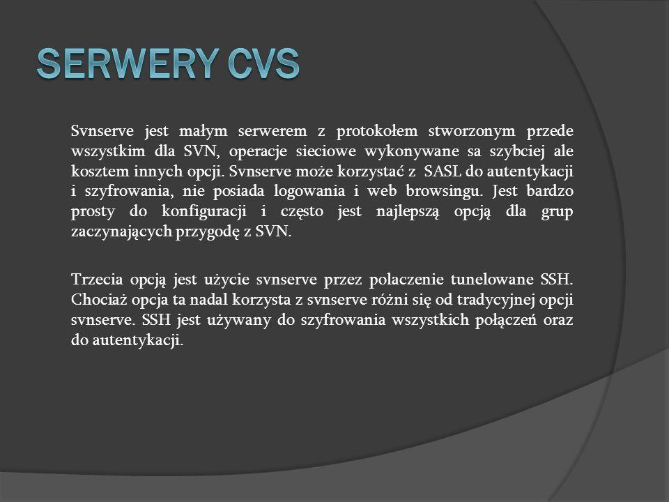 SERWERY CVS
