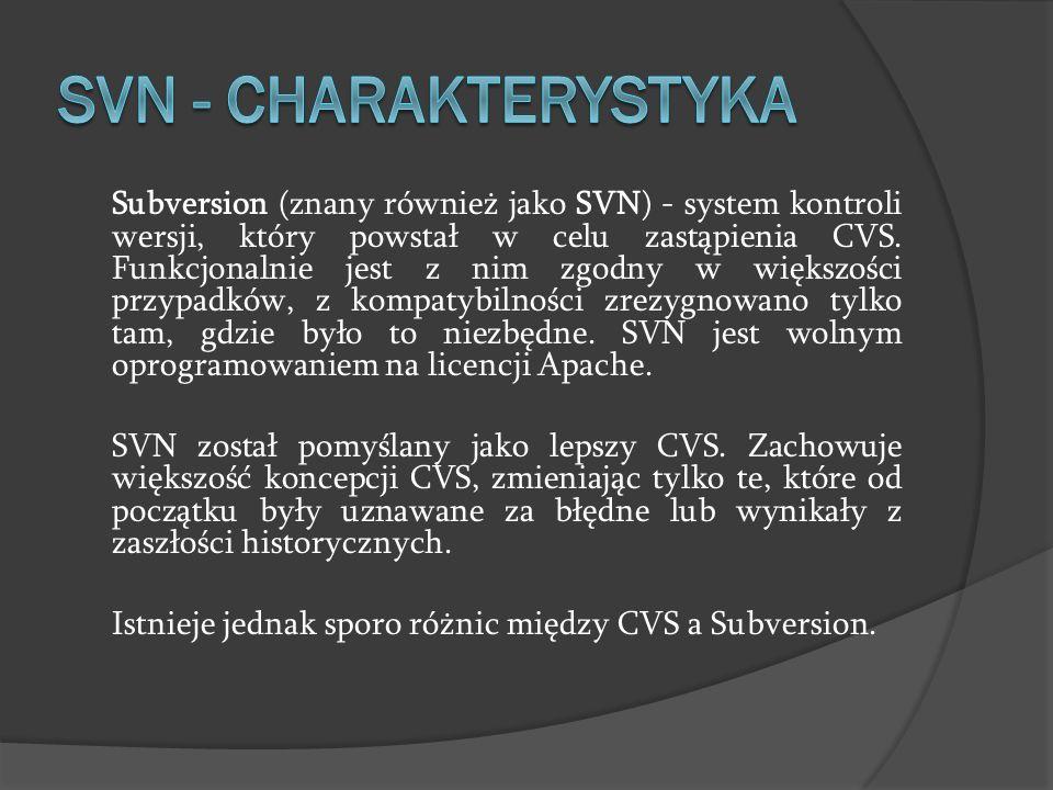 SVN - charakterystyka