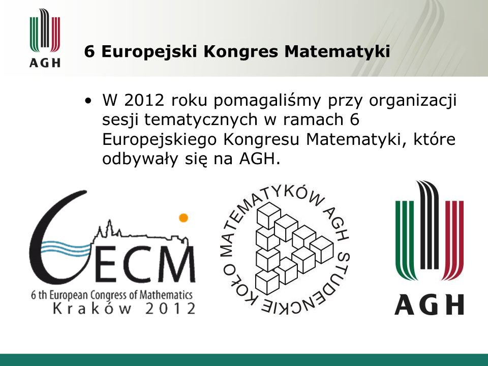 6 Europejski Kongres Matematyki