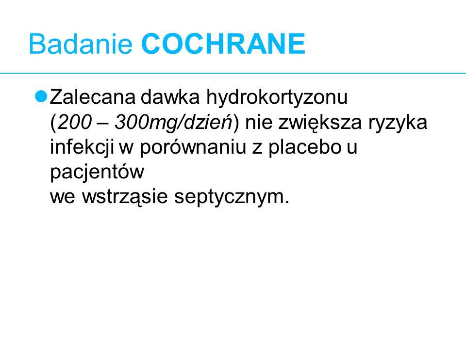 Badanie COCHRANE 10.