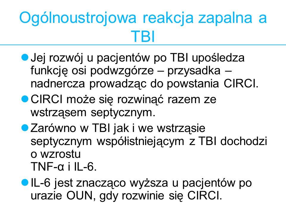 Ogólnoustrojowa reakcja zapalna a TBI