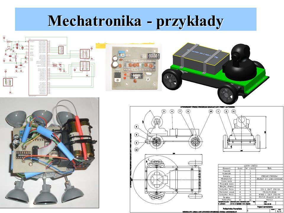 Mechatronika - przykłady