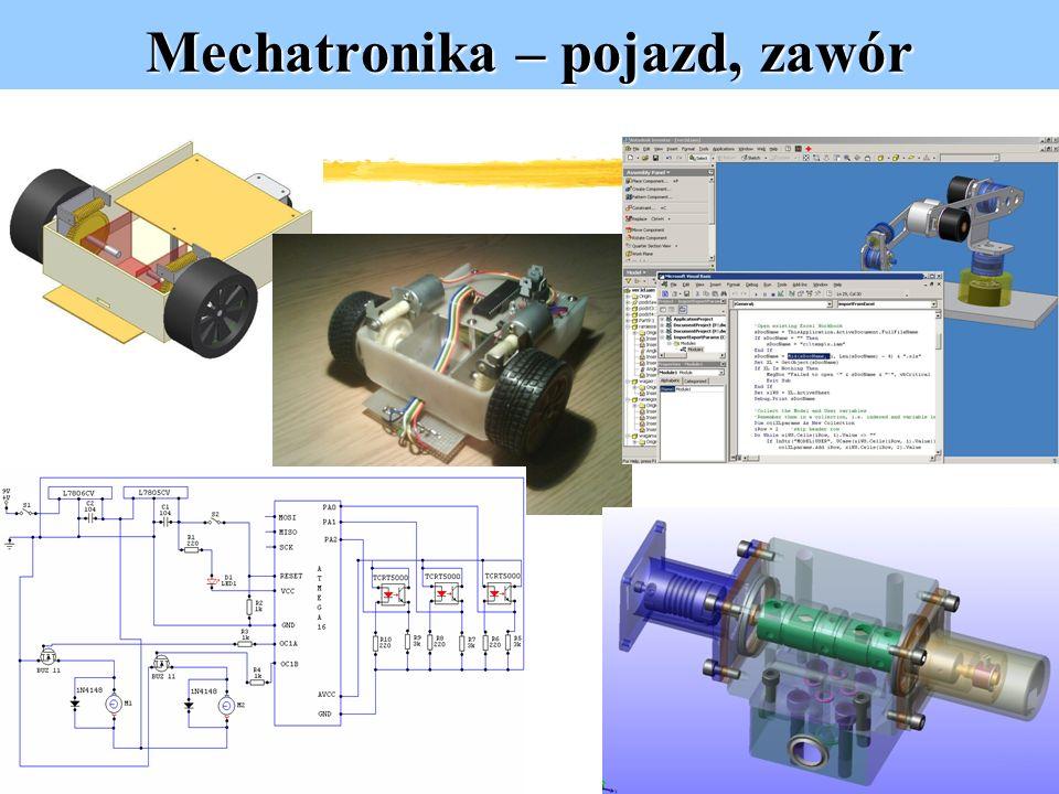 Mechatronika – pojazd, zawór