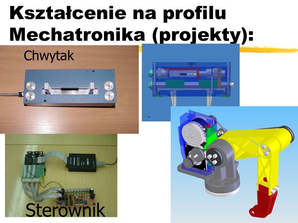 Kształcenie na profilu Mechatronika (projekty):