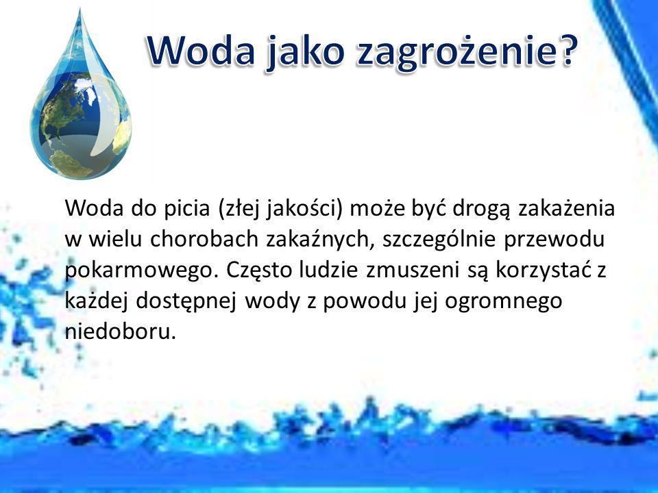 Woda jako zagrożenie