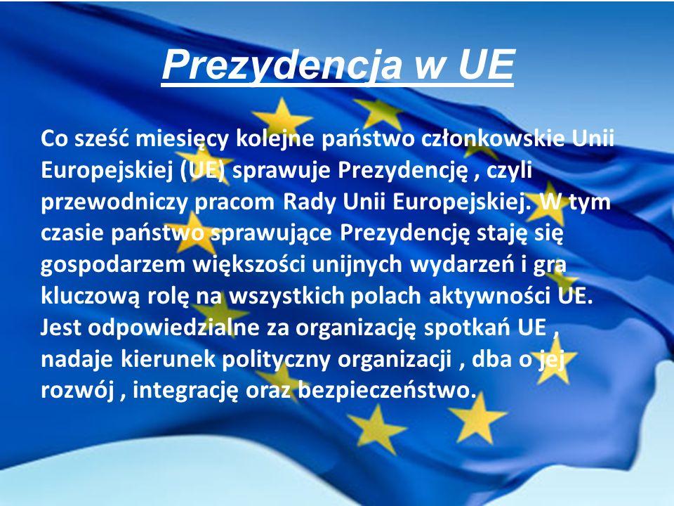 Prezydencja w UE