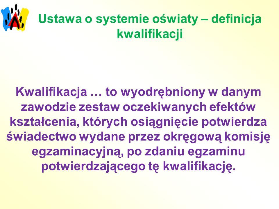 Ustawa o systemie oświaty – definicja kwalifikacji