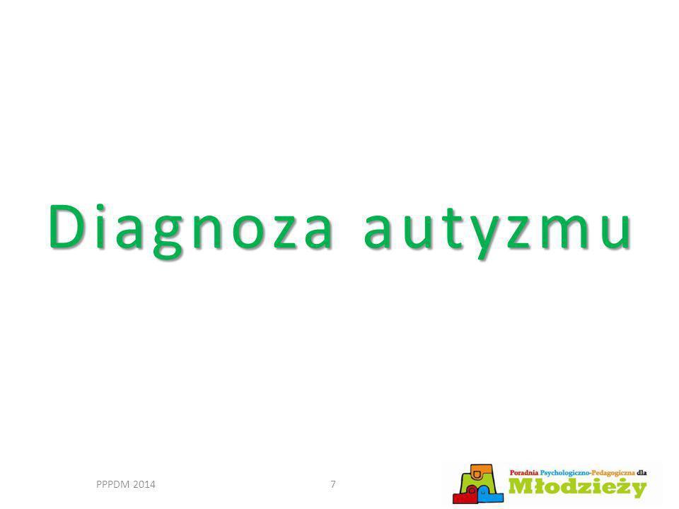 Diagnoza autyzmu PPPDM 2014