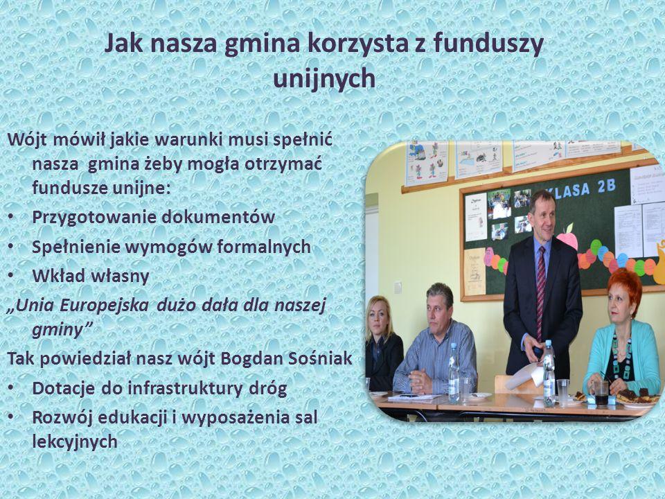 Jak nasza gmina korzysta z funduszy unijnych