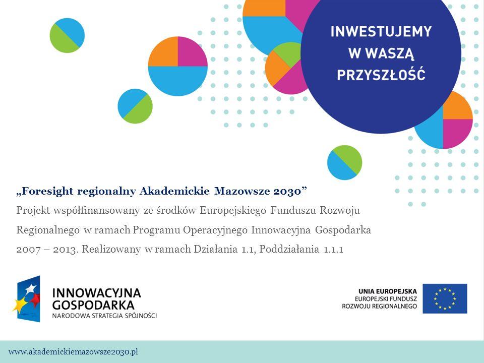 """""""Foresight regionalny Akademickie Mazowsze 2030"""
