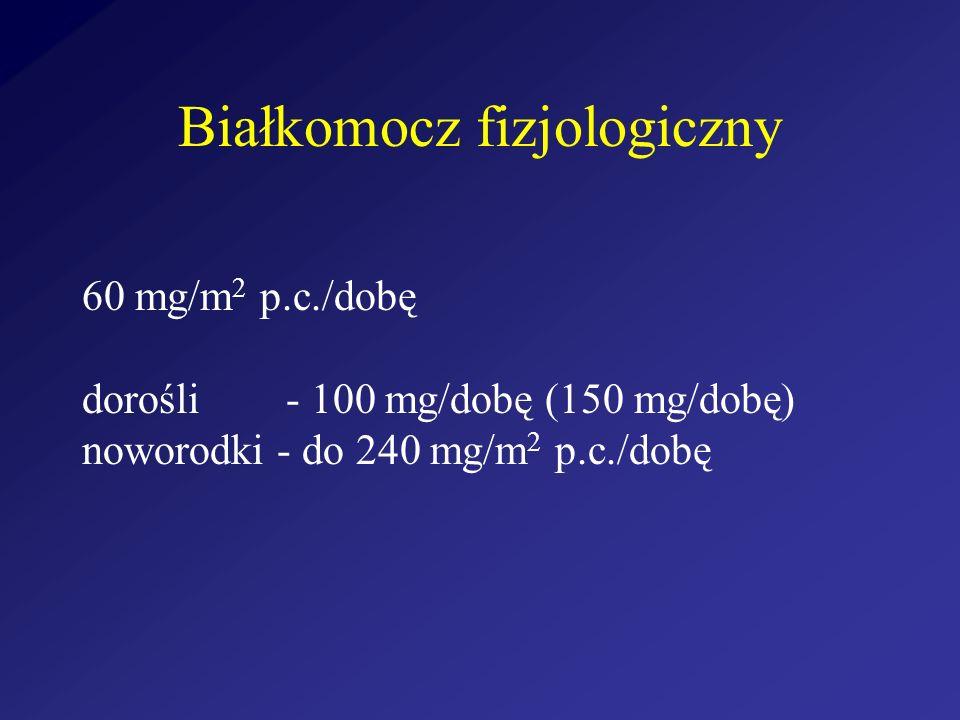 Białkomocz fizjologiczny