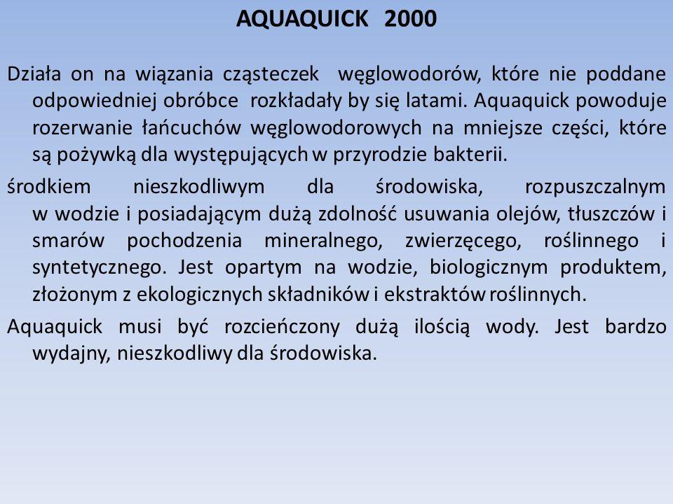 AQUAQUICK 2000