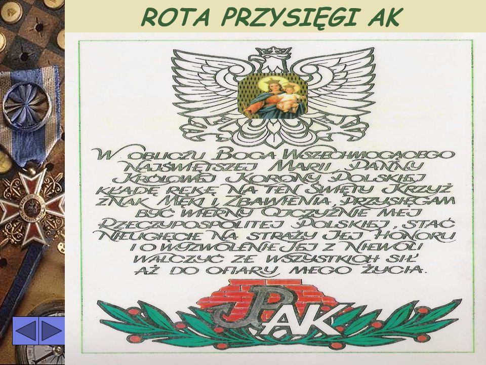 ROTA PRZYSIĘGI AK