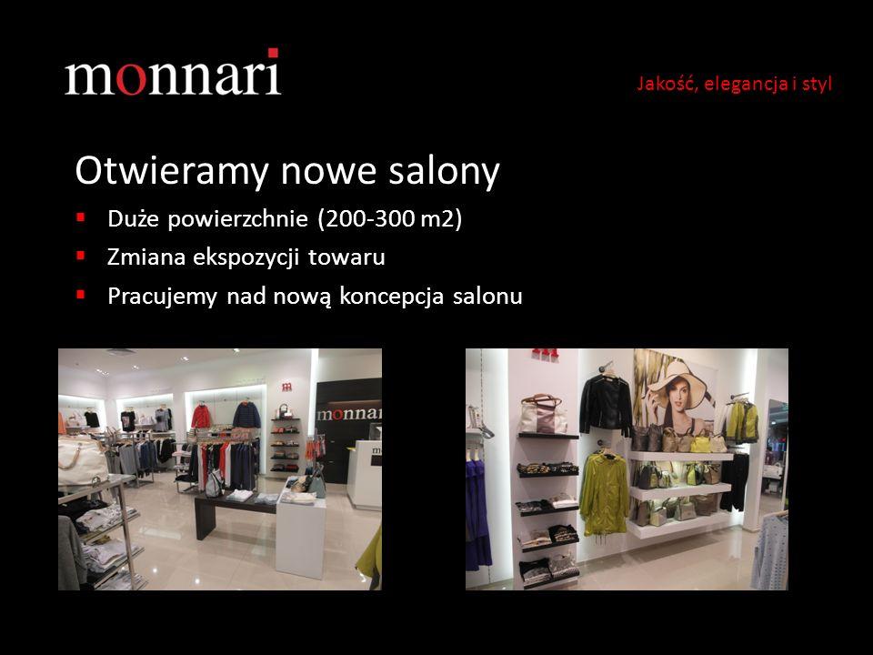 Otwieramy nowe salony Duże powierzchnie (200-300 m2)