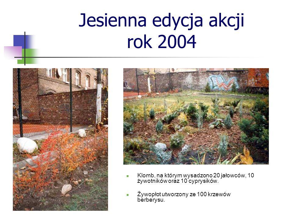 Jesienna edycja akcji rok 2004