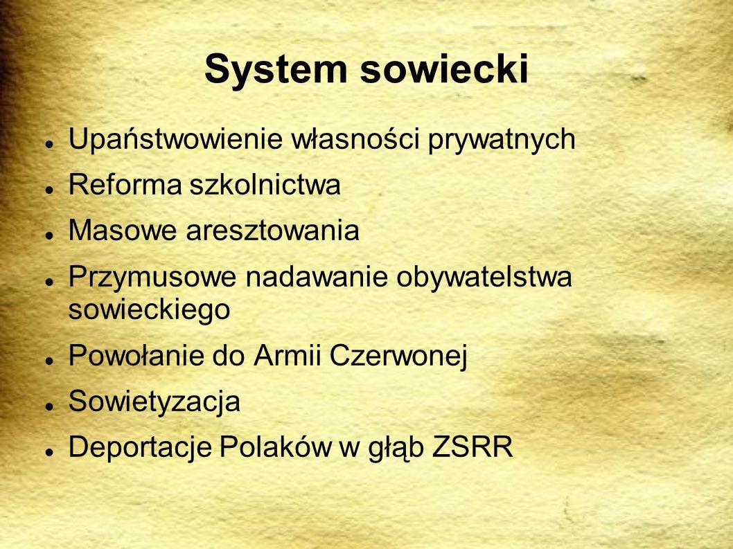 System sowiecki Upaństwowienie własności prywatnych