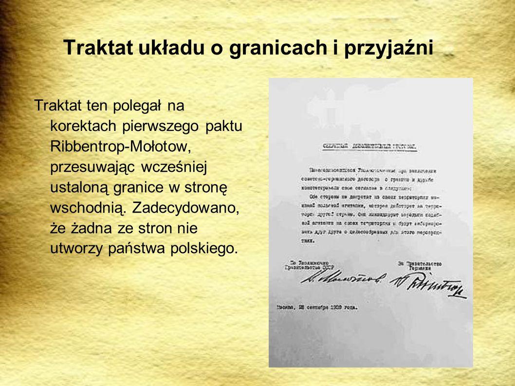 Traktat układu o granicach i przyjaźni