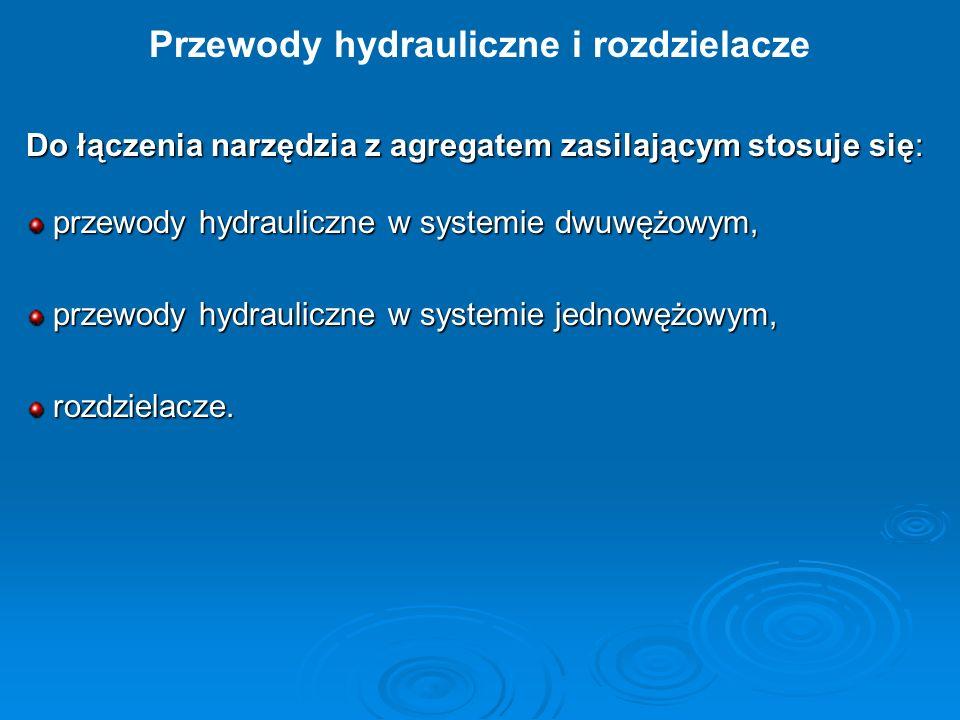 Przewody hydrauliczne i rozdzielacze