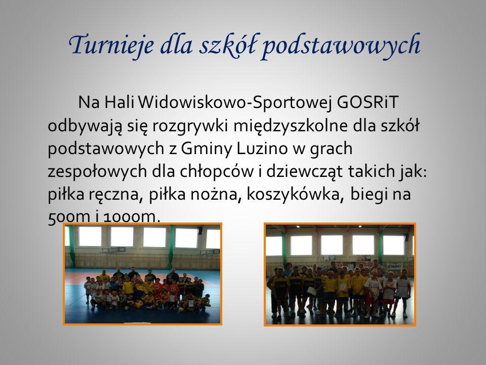 Turnieje dla szkół podstawowych