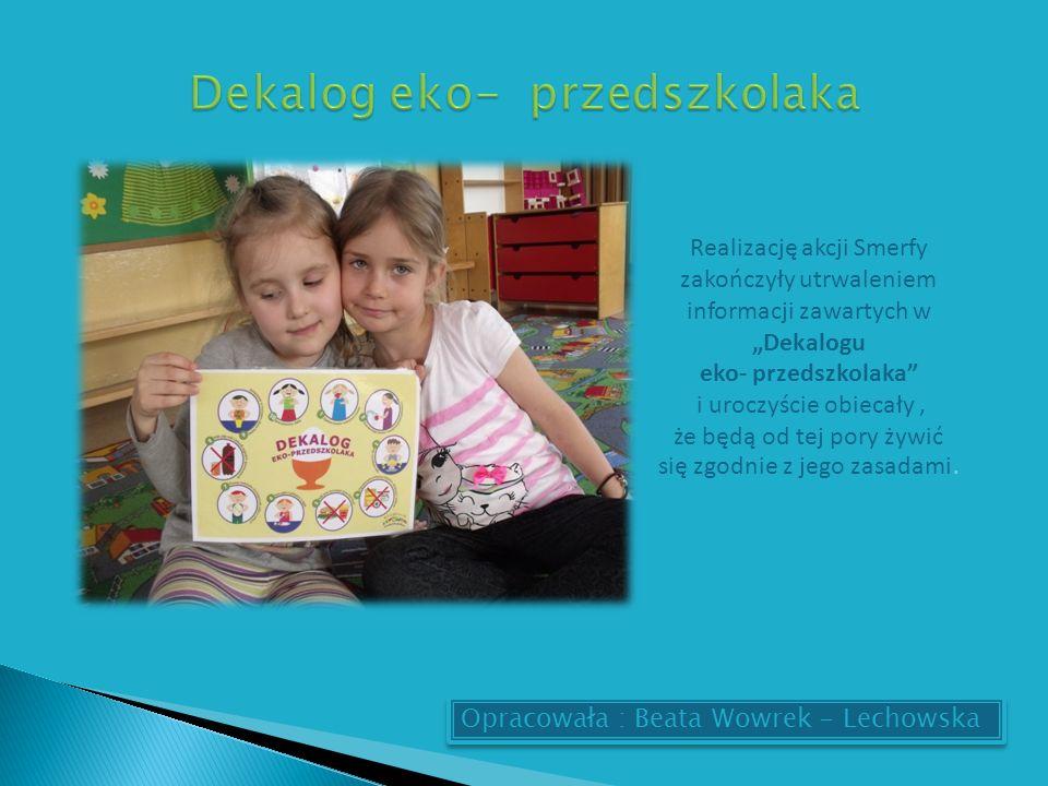 Dekalog eko- przedszkolaka