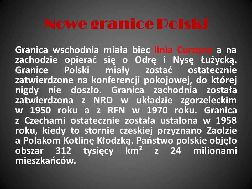 Nowe granice Polski