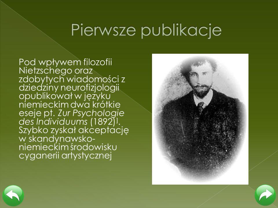 Pierwsze publikacje