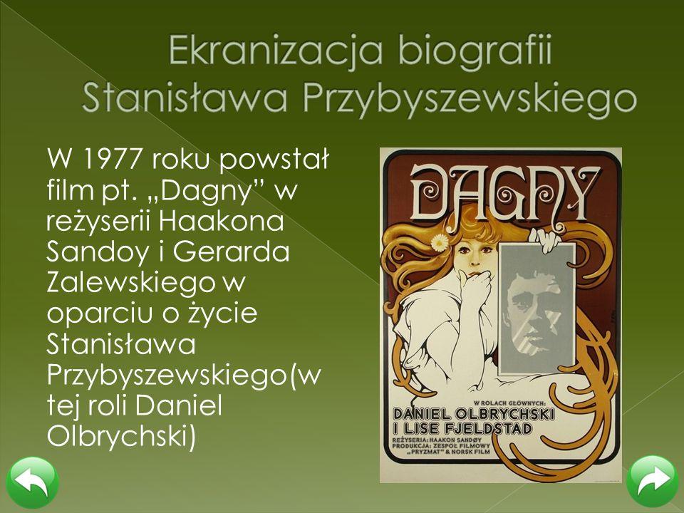 Ekranizacja biografii Stanisława Przybyszewskiego