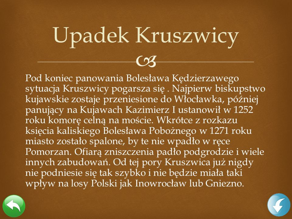 Upadek Kruszwicy