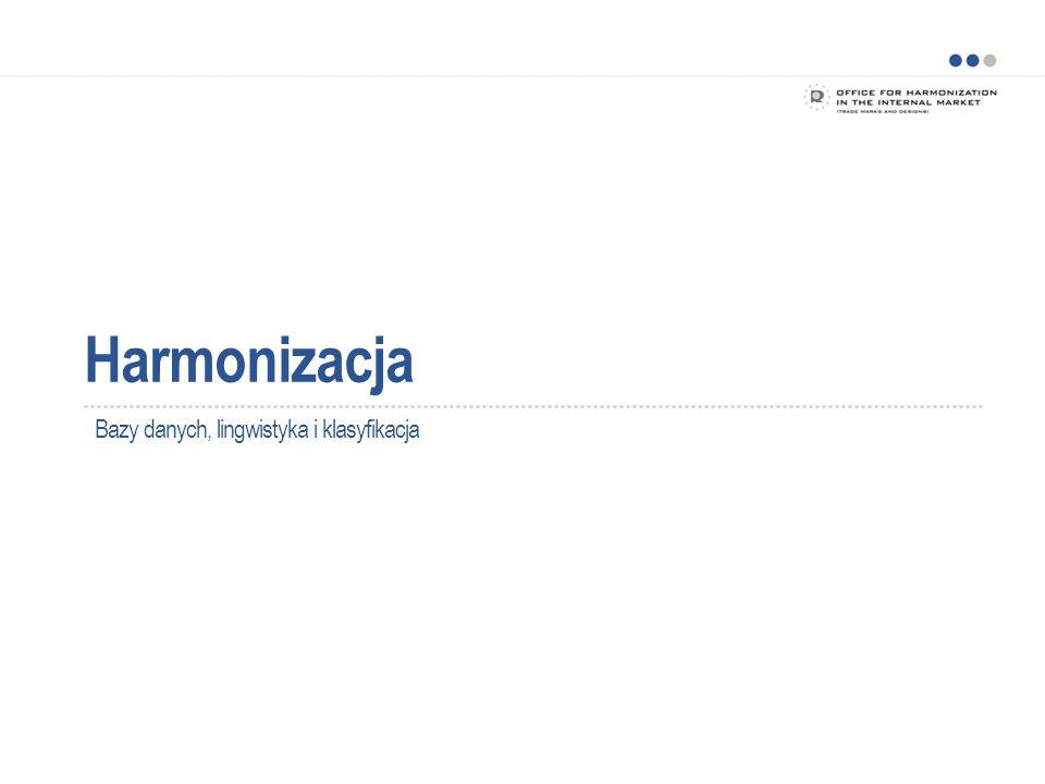 Harmonizacja Bazy danych, lingwistyka i klasyfikacja