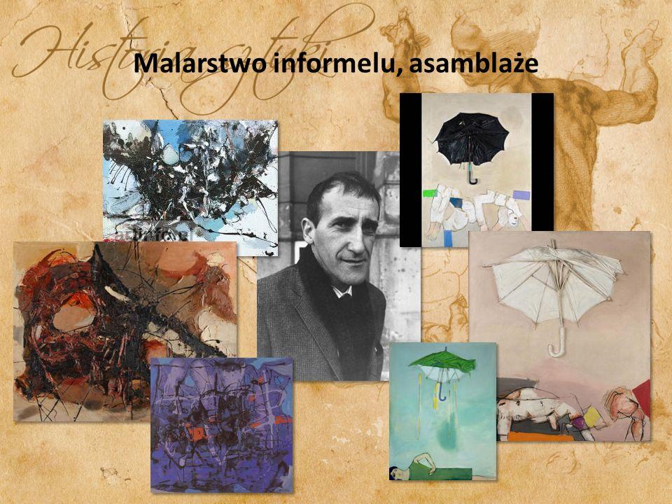 Malarstwo informelu, asamblaże